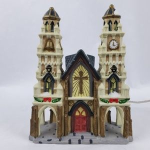 Dickens Collectables Hand Painted Light Up Church